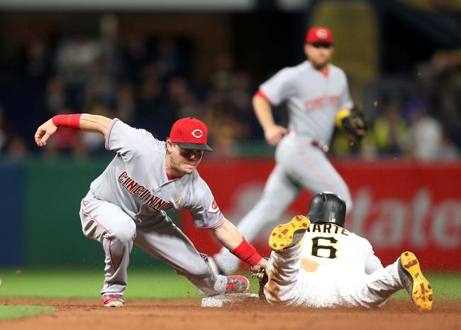 Pittsburgh Pirates vs. Cincinnati Reds - 9/2/17 MLB Pick, Odds, and Prediction