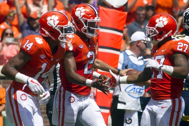 Auburn at Clemson - 9/9/17 College Football Pick, Odds, and Prediction