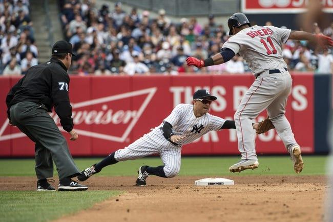 New York Yankees vs. Boston Red Sox - 9/3/17 MLB Pick, Odds, and Prediction
