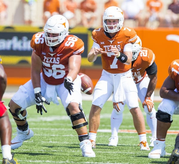 Texas vs. San Jose State - 9/9/17 College Football Pick, Odds, and Prediction