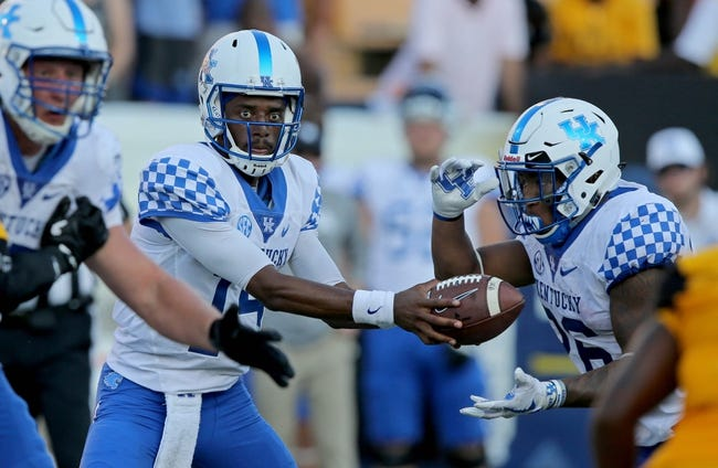 Kentucky vs. Eastern Kentucky - 9/9/17 College Football Pick, Odds, and Prediction