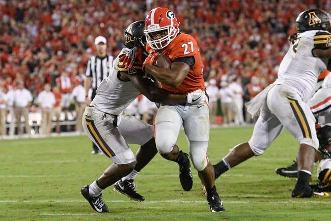 Georgia vs. Samford - 9/16/17 College Football Pick, Odds, and Prediction