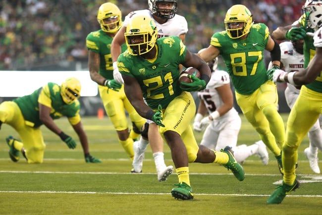 Oregon vs. Nebraska - 9/9/17 College Football Pick, Odds, and Prediction