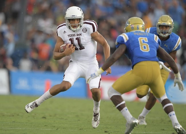 Texas A&M vs. Nicholls State - 9/9/17 College Football Pick, Odds, and Prediction