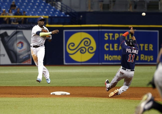 Tampa Bay Rays vs. Minnesota Twins - 9/6/17 MLB Pick, Odds, and Prediction