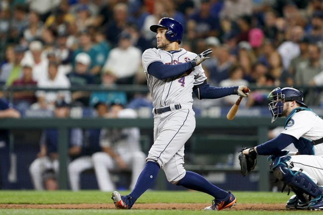 Houston Astros vs. Seattle Mariners - 9/15/17 MLB Pick, Odds, and Prediction