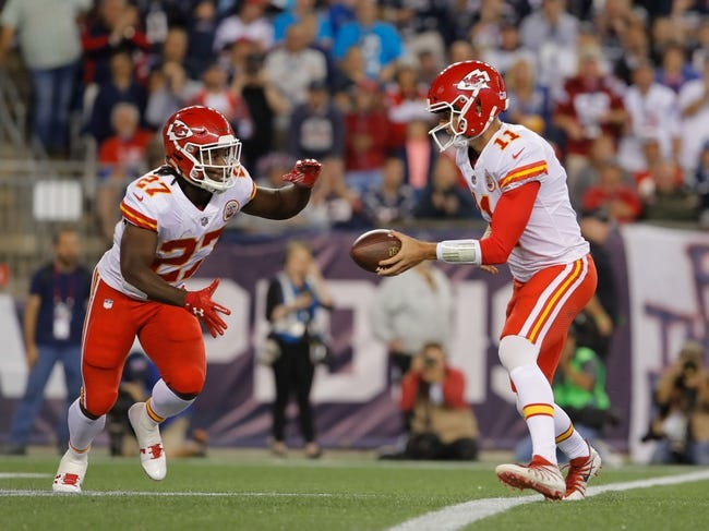 Philadelphia Eagles at Kansas City Chiefs - 9/17/17 NFL Pick, Odds, and Prediction