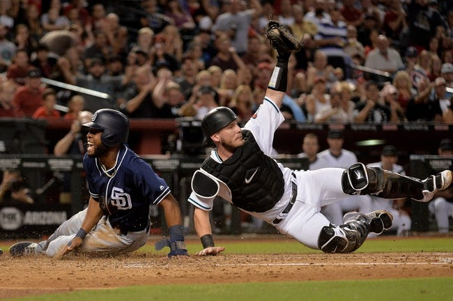 Arizona Diamondbacks vs. San Diego Padres - 9/9/17 MLB Pick, Odds, and Prediction