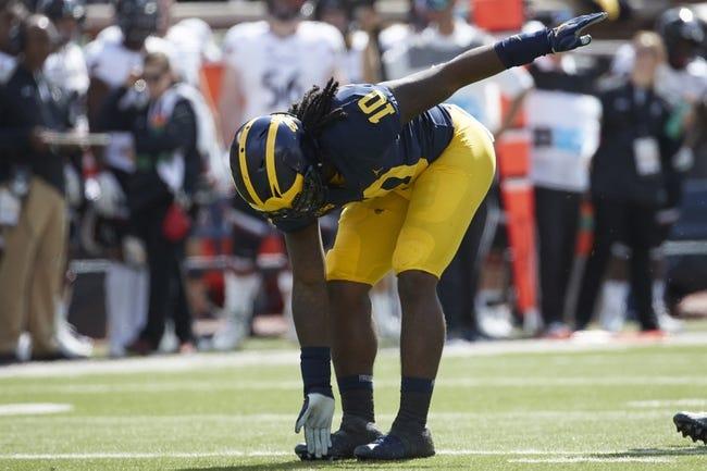 Michigan vs. Nebraska - 9/22/18 College Football Pick, Odds, and Prediction
