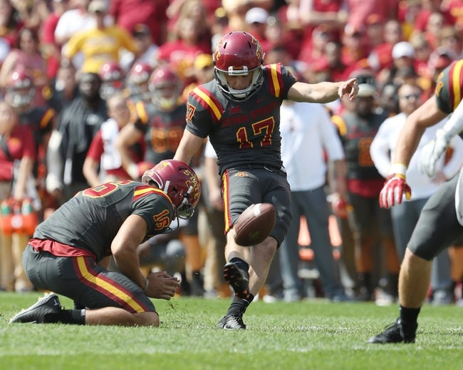 Akron vs. Iowa State - 9/16/17 College Football Pick, Odds, and Prediction