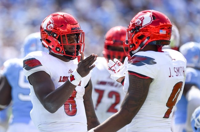 Louisville vs. Murray State - 9/30/17 College Football Pick, Odds, and Prediction
