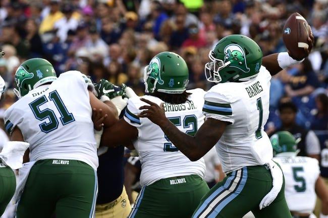 Tulane vs. Tulsa - 10/7/17 College Football Pick, Odds, and Prediction