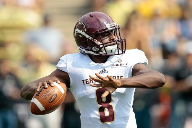 CFB | Texas State Bobcats (2-6) at Georgia State Panthers (2-6)
