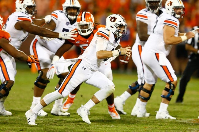 Auburn vs. Mercer - 9/16/17 College Football Pick, Odds, and Prediction