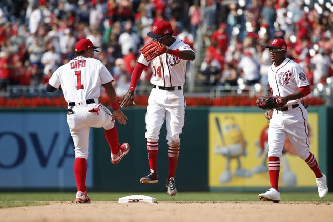 Philadelphia Phillies vs. Washington Nationals - 9/25/17 MLB Pick, Odds, and Prediction