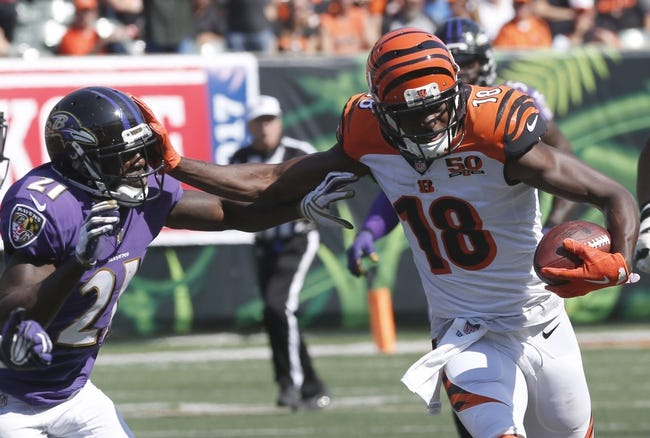 Baltimore Ravens vs. Cincinnati Bengals - 12/31/17 NFL Pick, Odds, and Prediction