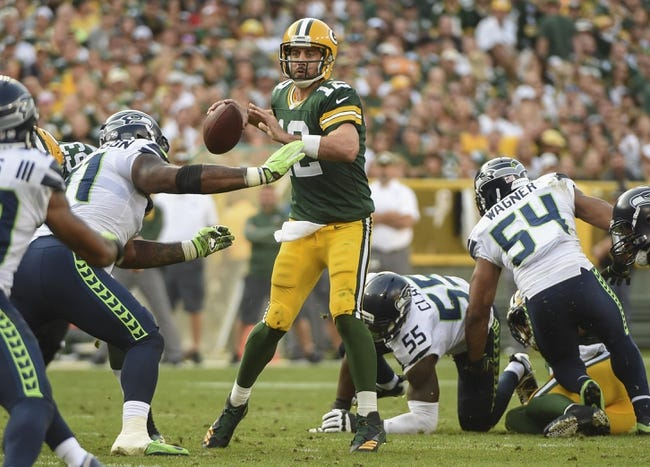 Green Bay Packers at Atlanta Falcons - 9/17/17 NFL Pick, Odds, and Prediction