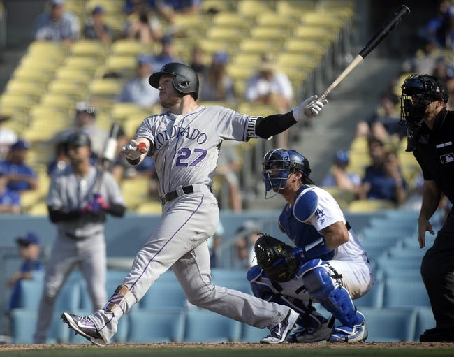 Colorado Rockies vs. Los Angeles Dodgers - 9/29/17 MLB Pick, Odds, and Prediction