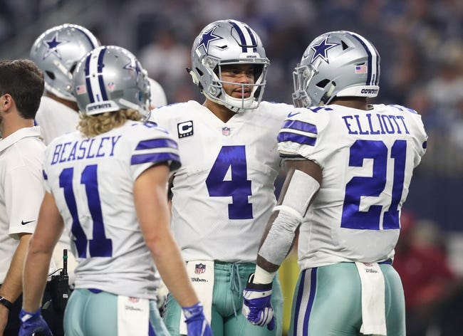Dallas Cowboys at Denver Broncos - 9/17/17 NFL Pick, Odds, and Prediction