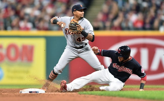 Cleveland Indians vs. Detroit Tigers - 9/12/17 MLB Pick, Odds, and Prediction