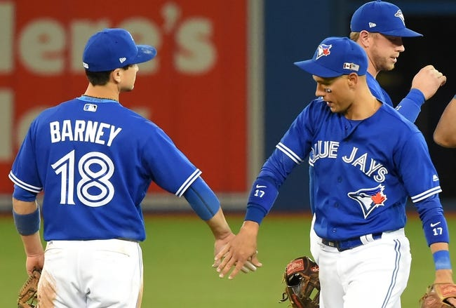 Toronto Blue Jays vs. Baltimore Orioles - 9/12/17 MLB Pick, Odds, and Prediction