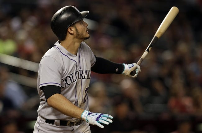 Arizona Diamondbacks vs. Colorado Rockies - 9/12/17 MLB Pick, Odds, and Prediction