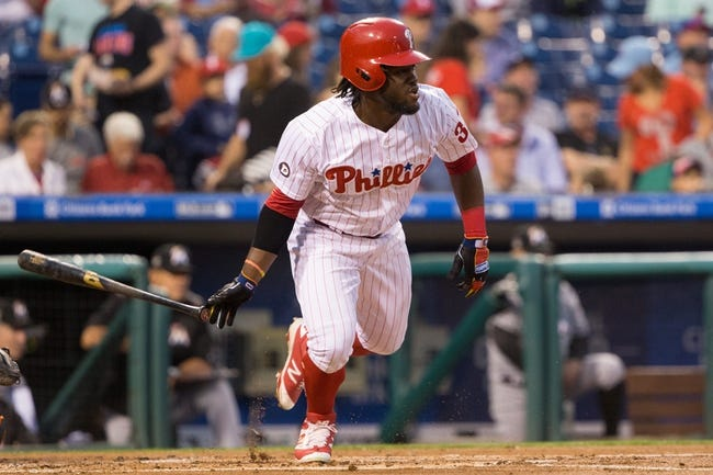 Philadelphia Phillies vs. Miami Marlins - 9/13/17 MLB Pick, Odds, and Prediction