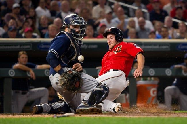 Minnesota Twins vs. San Diego Padres - 9/13/17 MLB Pick, Odds, and Prediction