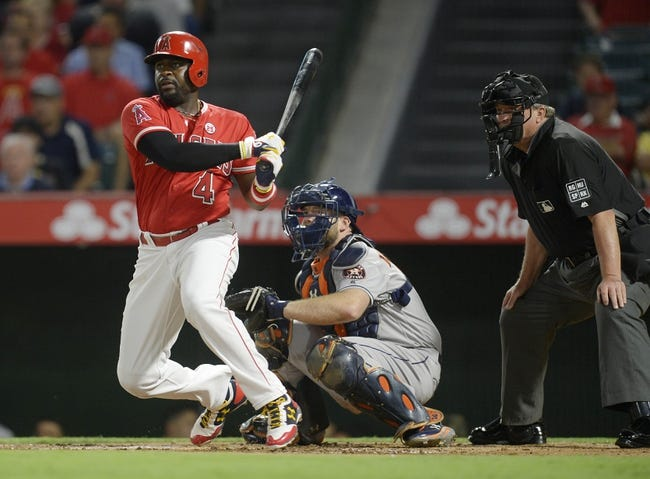 Los Angeles Angels vs. Houston Astros - 9/13/17 MLB Pick, Odds, and Prediction