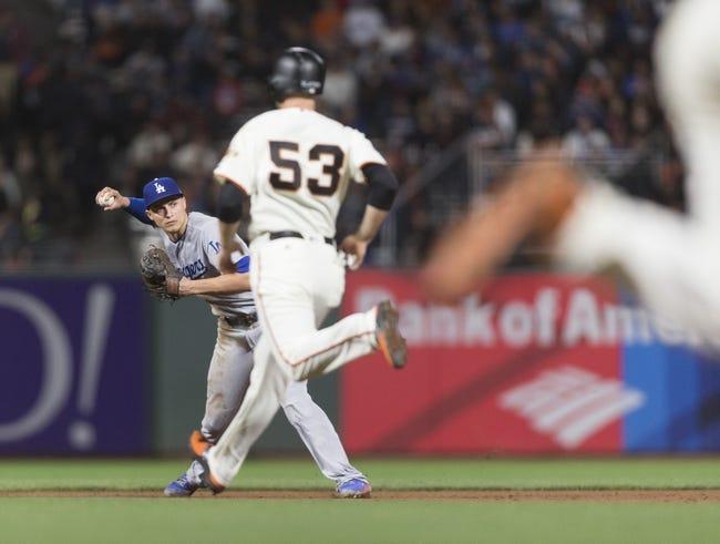 San Francisco Giants vs. Los Angeles Dodgers - 9/13/17 MLB Pick, Odds, and Prediction