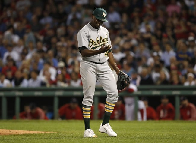 Boston Red Sox vs. Oakland Athletics - 9/14/17 MLB Pick, Odds, and Prediction
