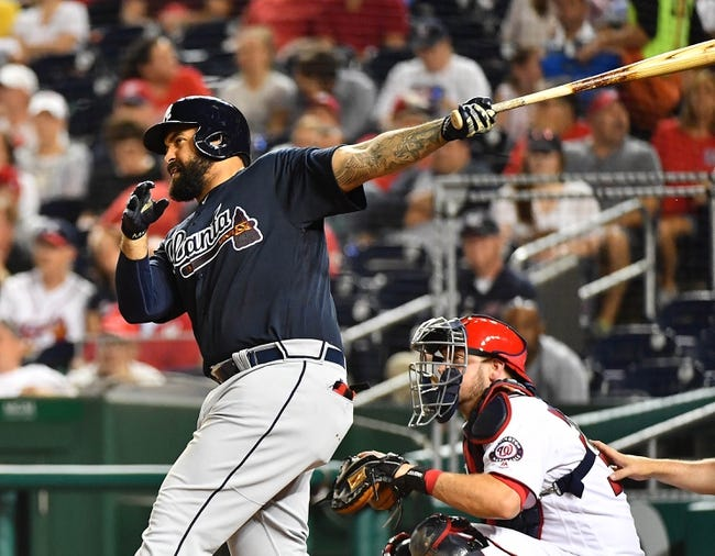 Washington Nationals vs. Atlanta Braves - 9/14/17 MLB Pick, Odds, and Prediction