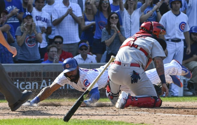 Chicago Cubs vs. St. Louis Cardinals - 9/16/17 MLB Pick, Odds, and Prediction