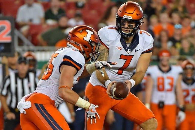 Illinois vs. Nebraska - 9/29/17 College Football Pick, Odds, and Prediction