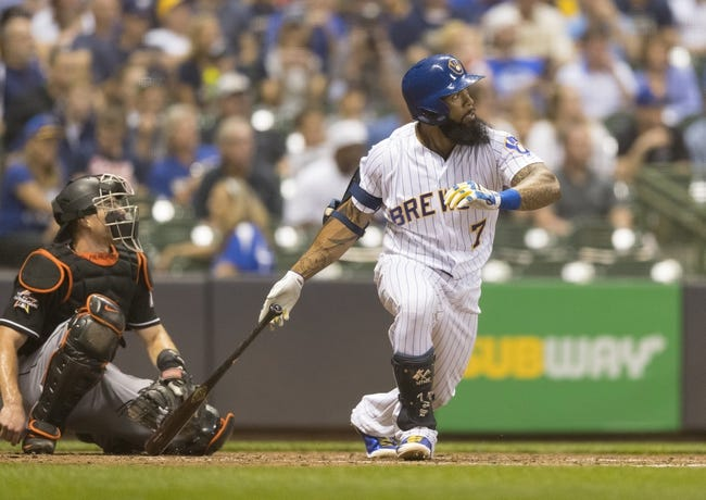 Miami Marlins vs. Milwaukee Brewers - 9/16/17 MLB Pick, Odds, and Prediction