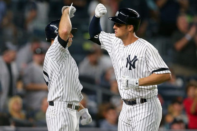 New York Yankees vs. Baltimore Orioles - 9/16/17 MLB Pick, Odds, and Prediction