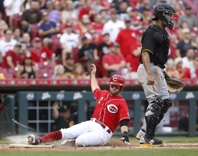 Cincinnati Reds vs. Pittsburgh Pirates - 9/17/17 MLB Pick, Odds, and Prediction