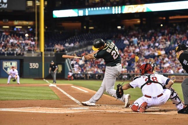 Philadelphia Phillies vs. Oakland Athletics - 9/17/17 MLB Pick, Odds, and Prediction