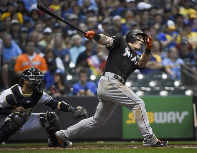 Miami Marlins vs. Milwaukee Brewers - 9/17/17 MLB Pick, Odds, and Prediction