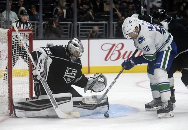 Los Angeles Kings vs. Vancouver Canucks - 11/14/17 NHL Pick, Odds, and Prediction