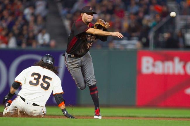 San Francisco Giants vs. Arizona Diamondbacks - 9/17/17 MLB Pick, Odds, and Prediction