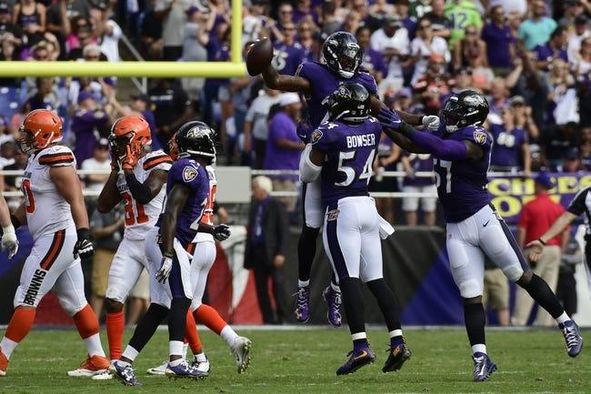 Cleveland Browns vs. Baltimore Ravens - 12/17/17 NFL Pick, Odds, and Prediction