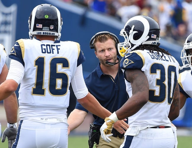 Los Angeles Chargers at Los Angeles Rams - 9/23/18 NFL Pick, Odds, and Prediction