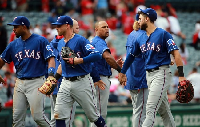 Texas Rangers vs. Los Angeles Angels - 4/9/18 MLB Pick, Odds, and Prediction