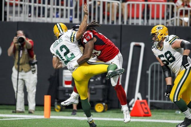 Atlanta Falcons at Green Bay Packers - 12/9/18 NFL Pick, Odds, and Prediction