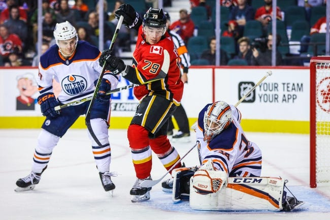 Edmonton Oilers vs. Calgary Flames - 10/4/17 NHL Pick, Odds, and Prediction