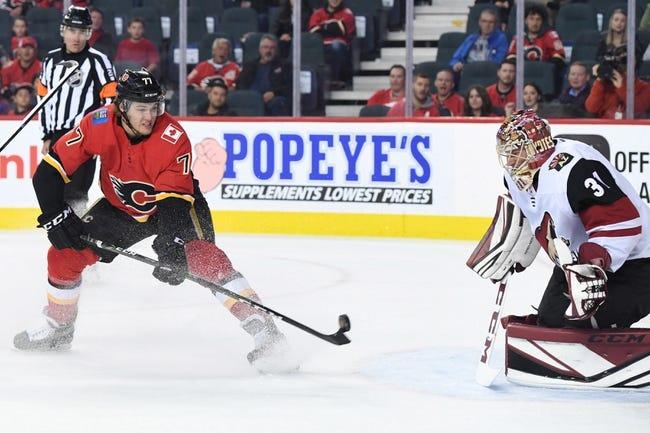 Calgary Flames vs. Arizona Coyotes - 11/30/17 NHL Pick, Odds, and Prediction