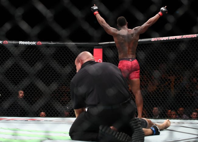 Ovince Saint Preux vs. Dominick Reyes UFC 229 Pick, Preview, Odds, Prediction - 10/6/18