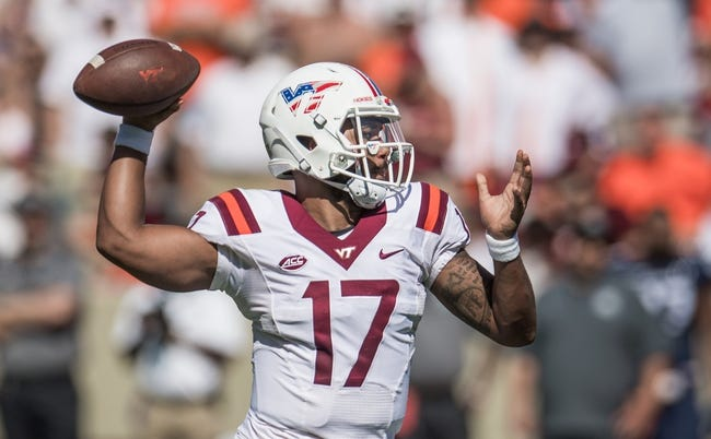 Clemson at Virginia Tech - 9/30/17 College Football Pick, Odds, and Prediction