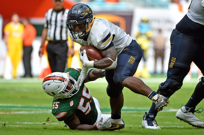 Bowling Green vs. Toledo - 11/15/17 College Football Pick, Odds, and Prediction